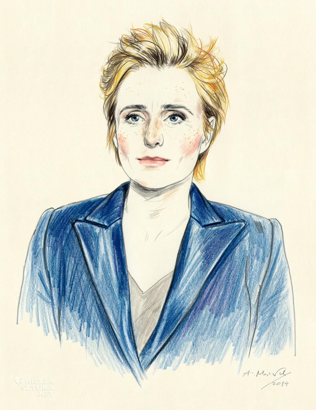 Agata Marszałek ilustracja www.niezlasztuka.net
