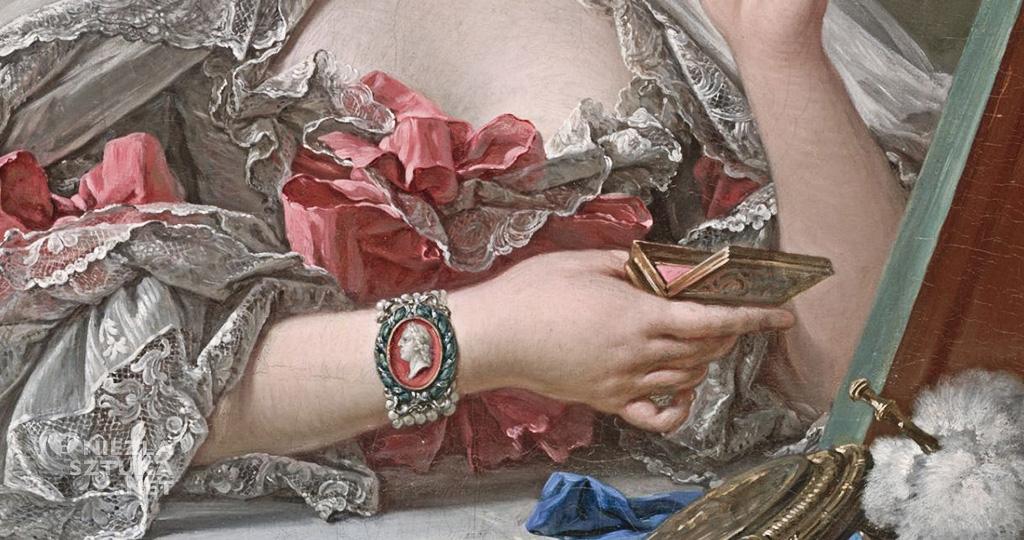 François Boucher, Toaleta Madame de Pompadour, Niezła sztuka