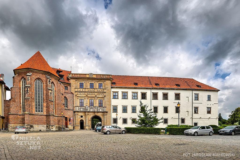 Zamek Brzeg architektura