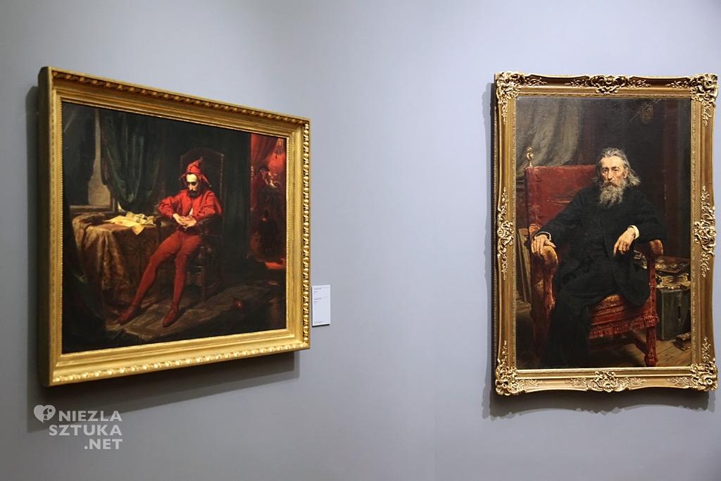 Jan Matejko, Autoportret, Stańczyk, sztuka polska, polskie muzea, Niezła Sztuka
