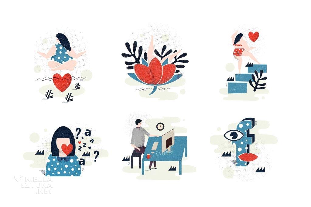 Martyna Wójcik-Śmierska ilustracje niezlasztuka.net
