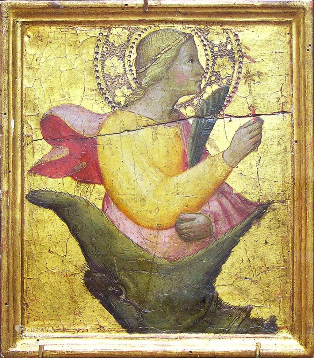 Agnolo Gaddi, Święta Małgorzata i smok, Niezła sztuka