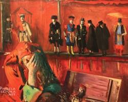 Leon Wyczółkowski, Stańczyk, szopka, lalki, sztuka polska, malarstwo polskie, Niezła sztuka