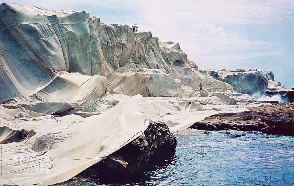 Christo, Land Art, sztuka współczesna, Niezła Sztuka