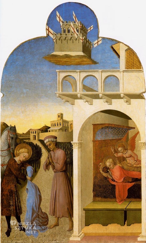 Stefano di Giovanni, Sassetta. Sen św. Franciszka, motywy religijne, sztuka włoska, szkoła sieneńska, Niezła Sztuka