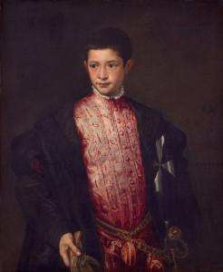 Tycjan, Ranuccio Farnese, malarstwo włoskie, sztuka renesansowa, niezła sztuka