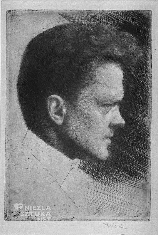 Józef Pankiewicz, Autoportret, sztuka polska, Niezła Sztuka