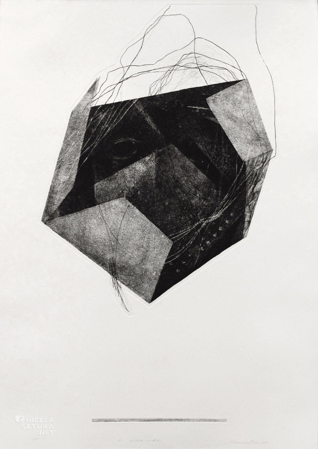 Aleksandra Bury grafika młoda zdolna Niezła Sztuka