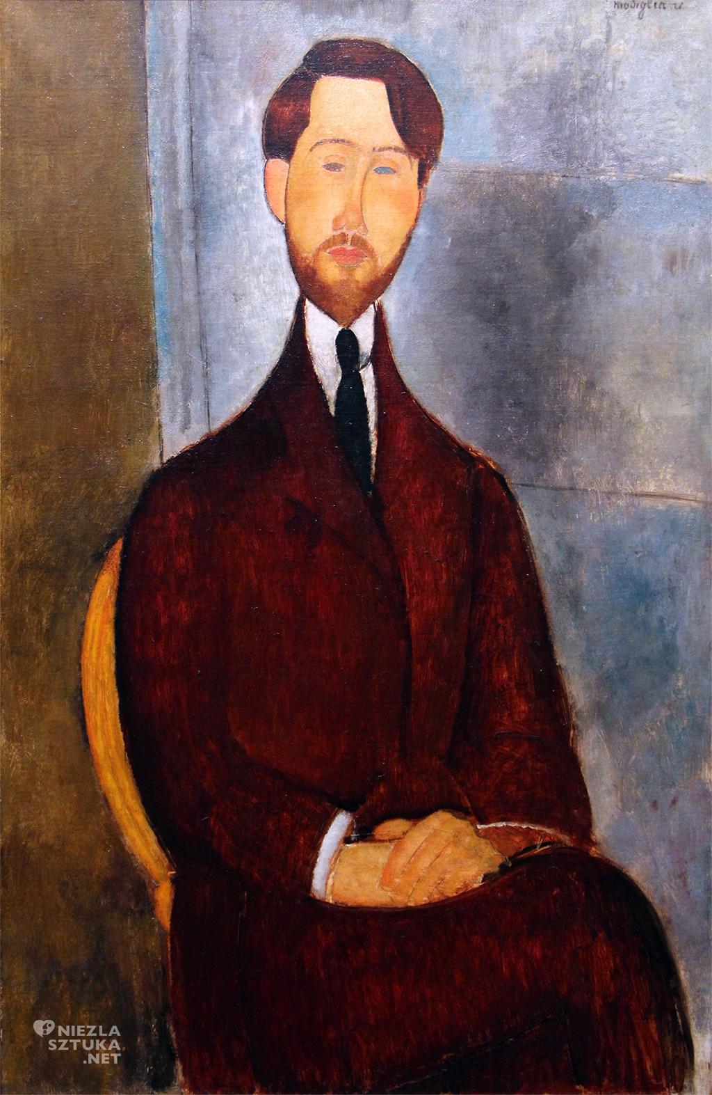 Amedeo Modigliani Portret Leopolda Zborowskiego