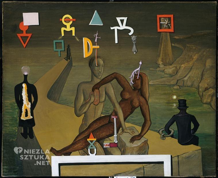 Victor Brauner, Pejzaż śródziemnomorski, 1932