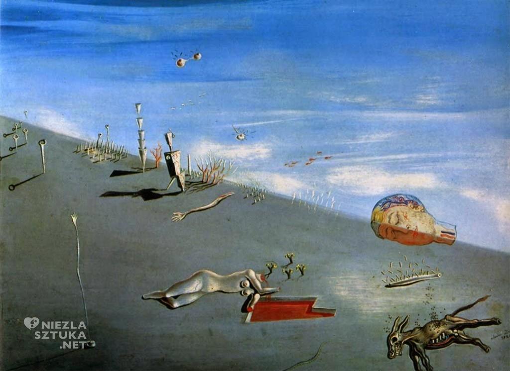 002. Salvador Dali, studium do obrazu Miód jest słodszy od krwi, 1926 r.