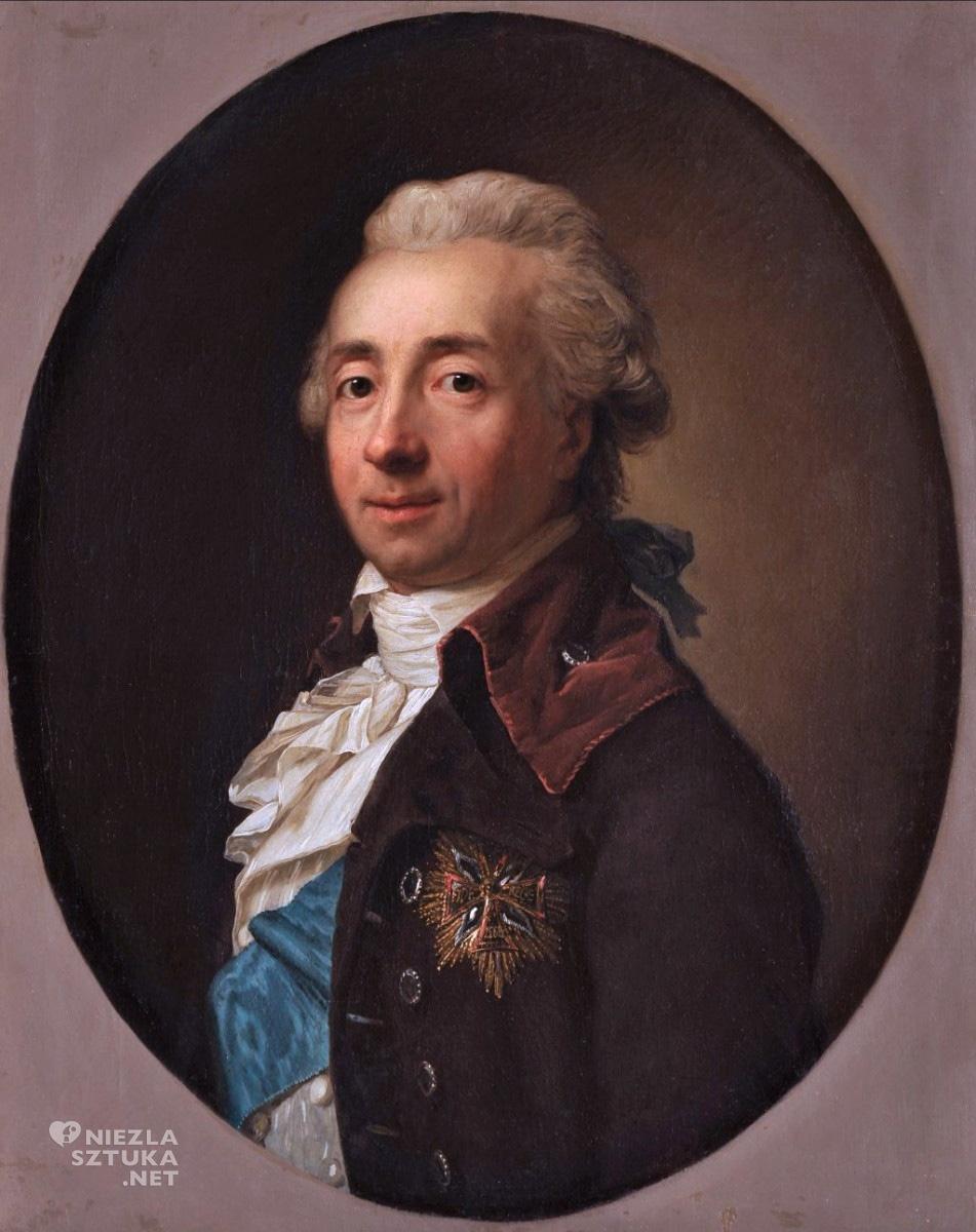 Anton Graff, Portret Michała Hieronima Radziwiłła, 1785