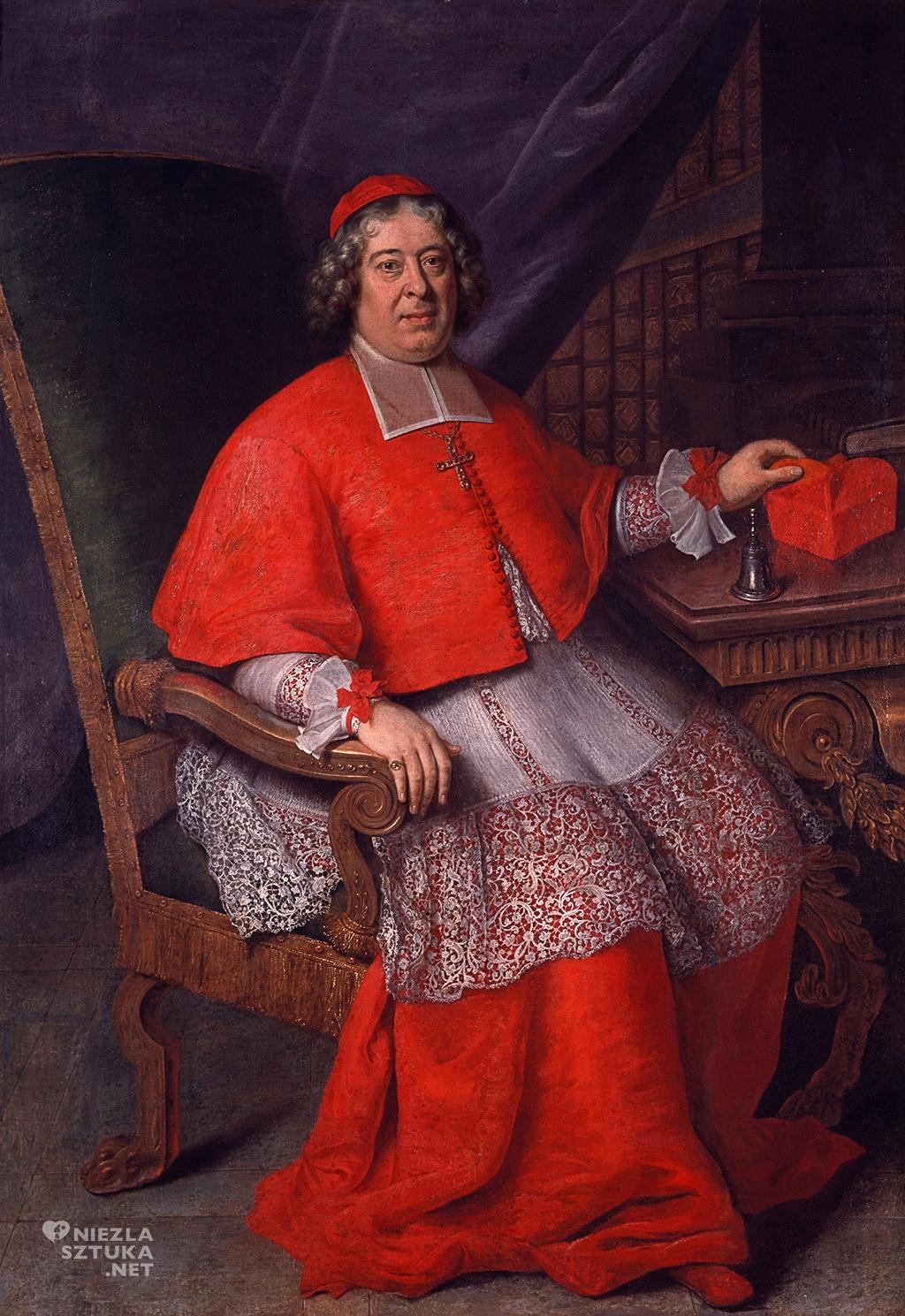 Francois la Criox, Portret Michała Stefana Radziejowskiego, 1702, fot. MNiA