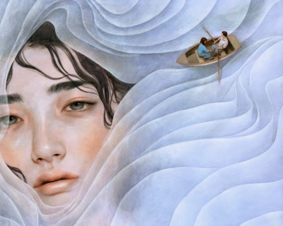 Tran Nguyen Paintings the lilac lady