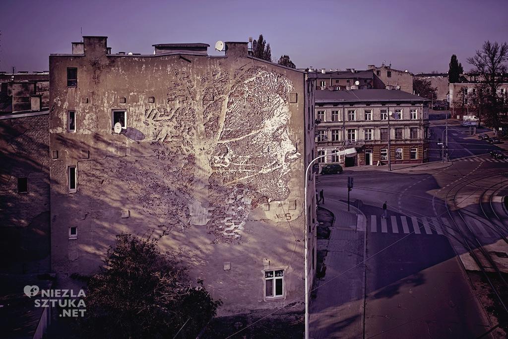 VHILS, Galeria Urban Forms, fot. M. Szymański