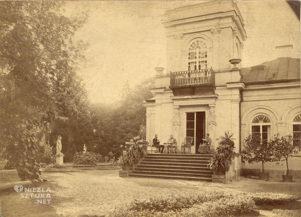 Pałac Józefa Brandta fot. Centrum Rzeźby Polskiej w Orońsku, Niezła sztuka