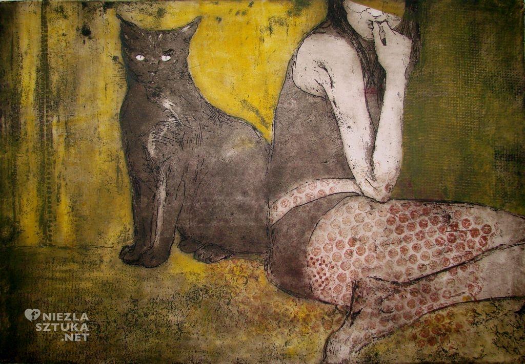 Edyta Purzycka Kot i jego Muza