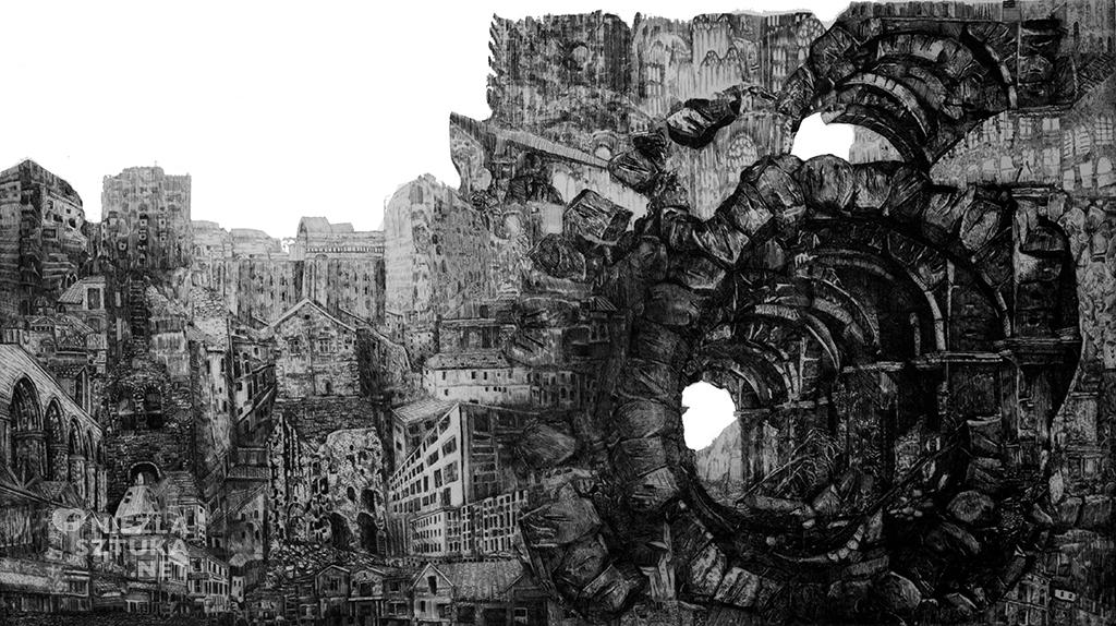 Oskar Gorzkiewicz grafika artystyczna