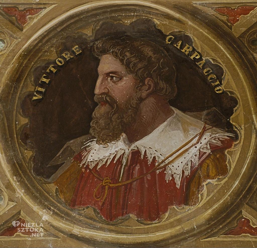 Pietro Paoletti Portret Vittore Carpaccio, Musei di Villa Torlonia