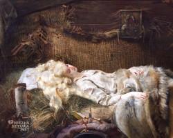 Jacek Malczewski, Śmierć Ellenai, detal, malarstwo polskie, sztuka polska, Niezła Sztuka