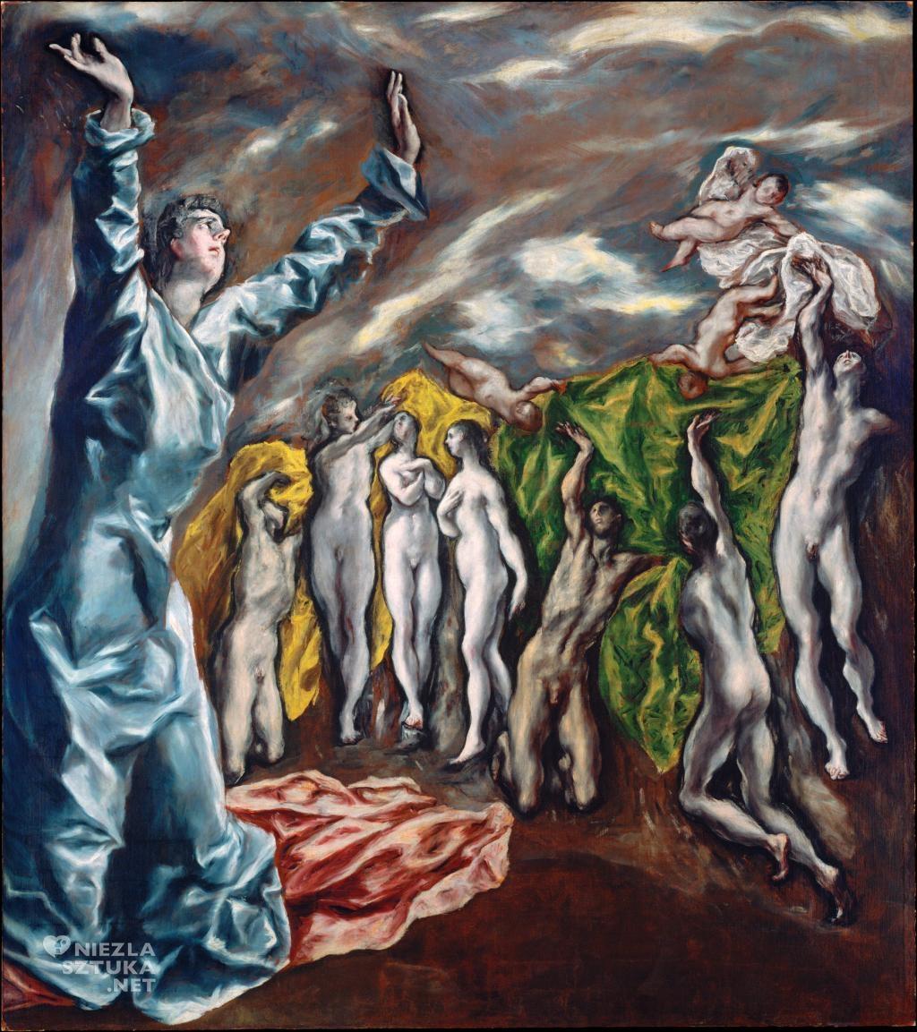 El Greco, Otwarcie piątej pieczęci Apokalipsy (Wizja św. Jana), 1608-1614