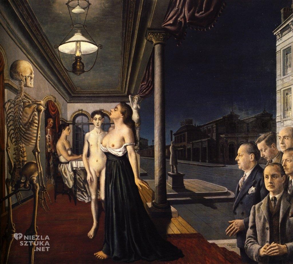 Paul Delvaux Muzeum Spitznera, 1943