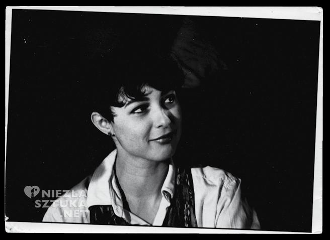 Małgorzata Starowieyska, próby do filmu Ute Aurand, 1981, Berlin