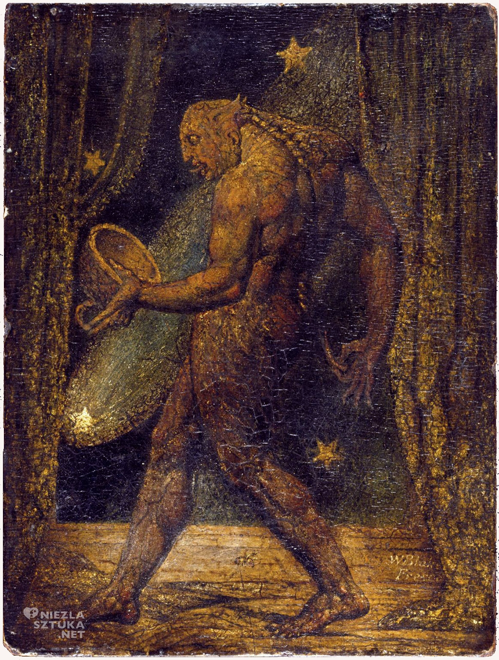 William Blake Duch pchły, ok. 1819–20