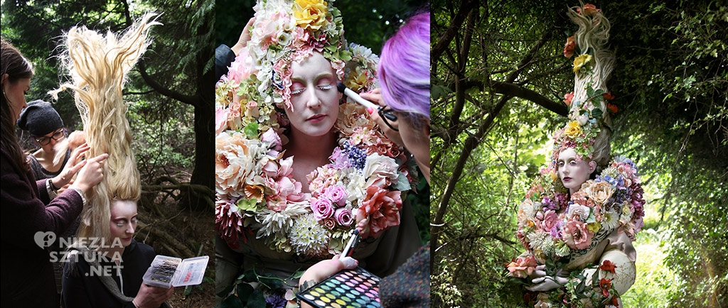 Behind the scenes Kirsty Mitchell