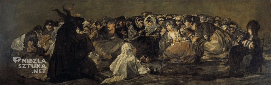 Francisco de Goya Sabat czarownic, 1819–1823
