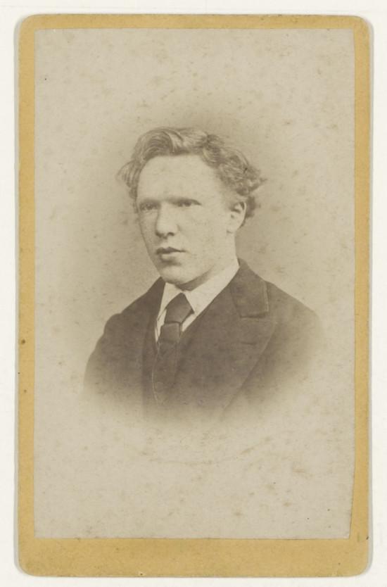 Vincent van Gogh, fotografia, młody van Gogh, Niezła Sztuka