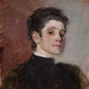 Olga Boznańska, Autoportret, malarka, sztuka polska, malarstwo polskie, Niezła sztuka