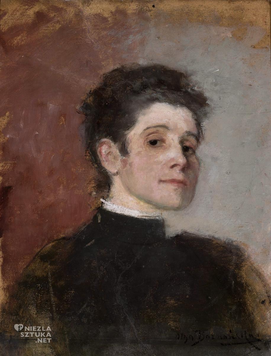 Olga Boznańska, Autoportret, 1896,wł. Muzeum Narodowe w Warszawie