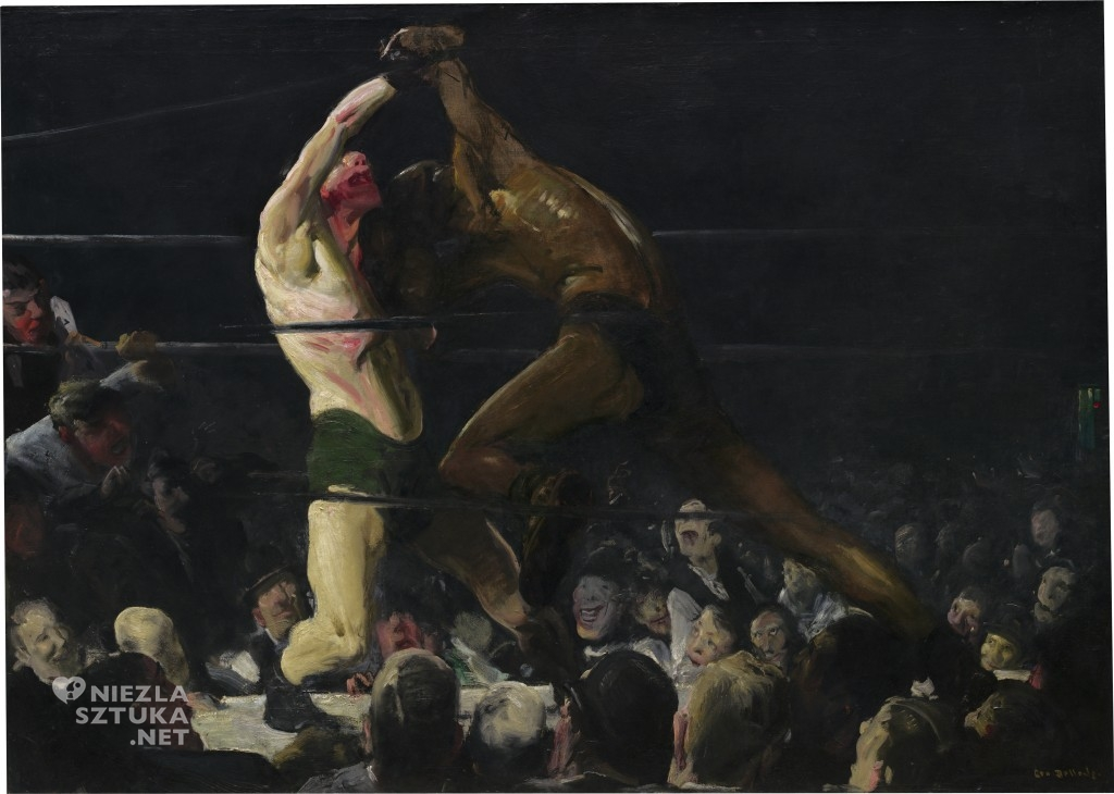 George Bellows, Both Members of This Club, 1909