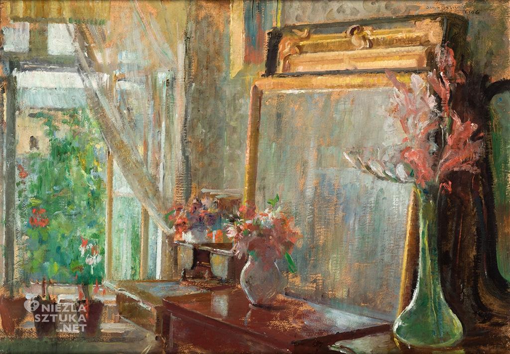 Olga Boznańska, Wnętrze, 1906, wł. Muzeum Narodowe w Krakowie