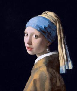 Johannes Vermeer, Dziewczyna z perłą, slajd
