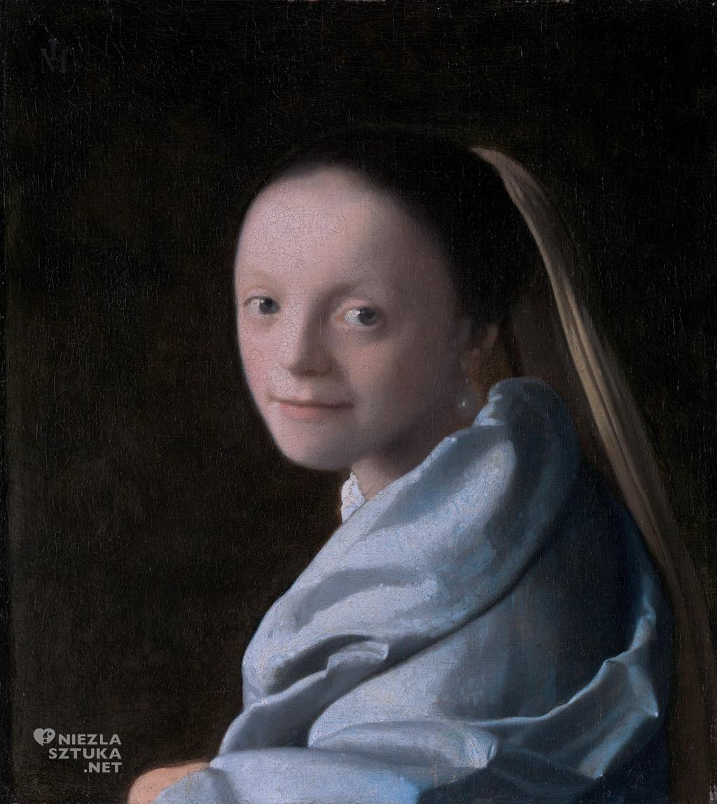 Johannes Vermeer, Studium młodej dziewczyny, malarstwo niderlandzkie, Niezła Sztuka