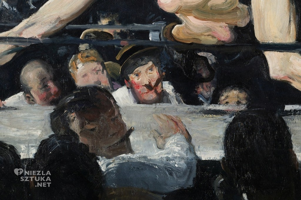 George Bellows, Stag at Sharkey's, 1909, fot. wikipedia.org