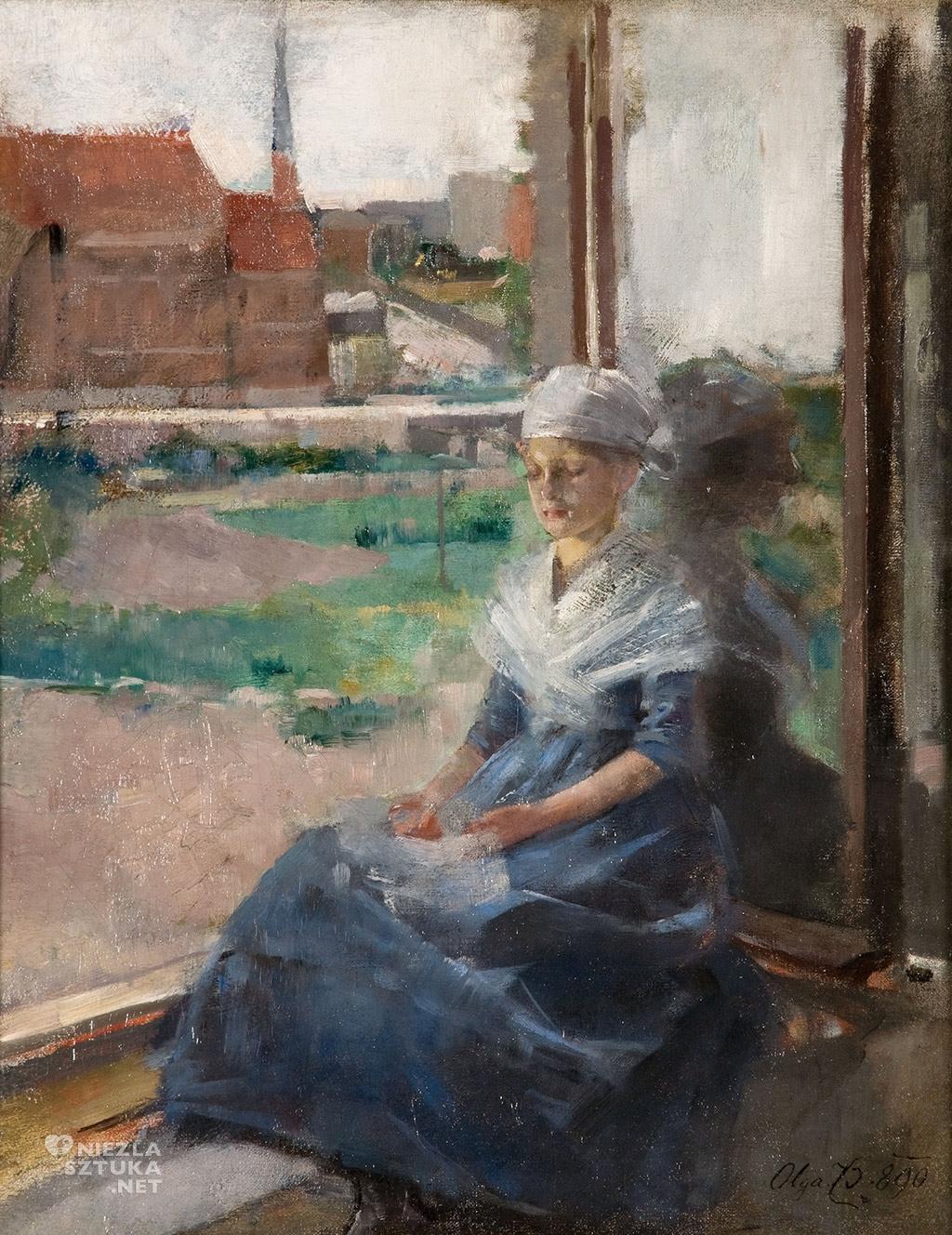 Olga Boznańska, Bretonka, Muzeum Narodowe w Krakowie, sztuka polska, malarstwo polskie, Niezła sztuka