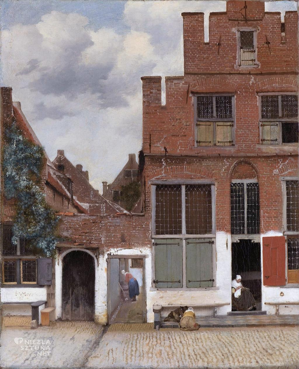 Johannes Vermeer, Uliczka, Niezła sztuka