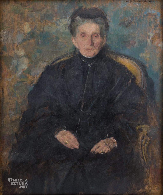 Olga Boznańska, Portret Jadwigi z Sanguszków Sapieżyny, 1910, wł. Muzeum Narodowe w Krakowie