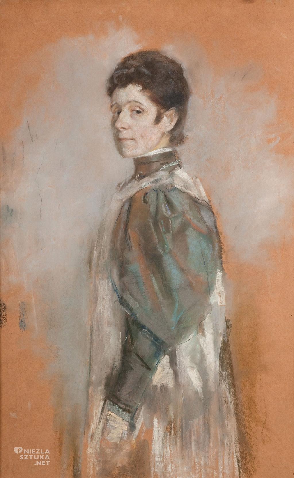 Olga Boznańska, Autoportret, 1898 , wł. Muzeum Narodowe w Krakowie