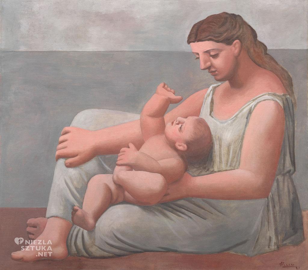 Pablo Picasso, Matka i dziecko, kubizm, Niezła Sztuka