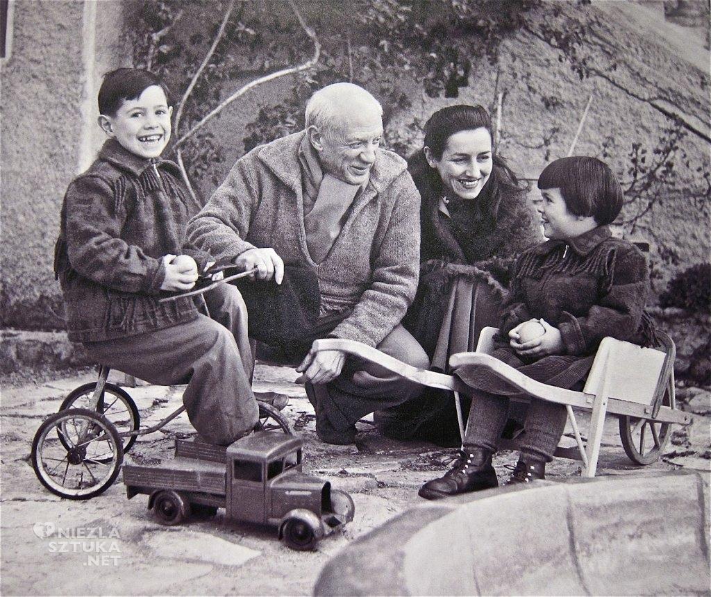 Pablo Picasso, Françoise Gilot, dzieci, kobiety Picassa, Niezła Sztuka