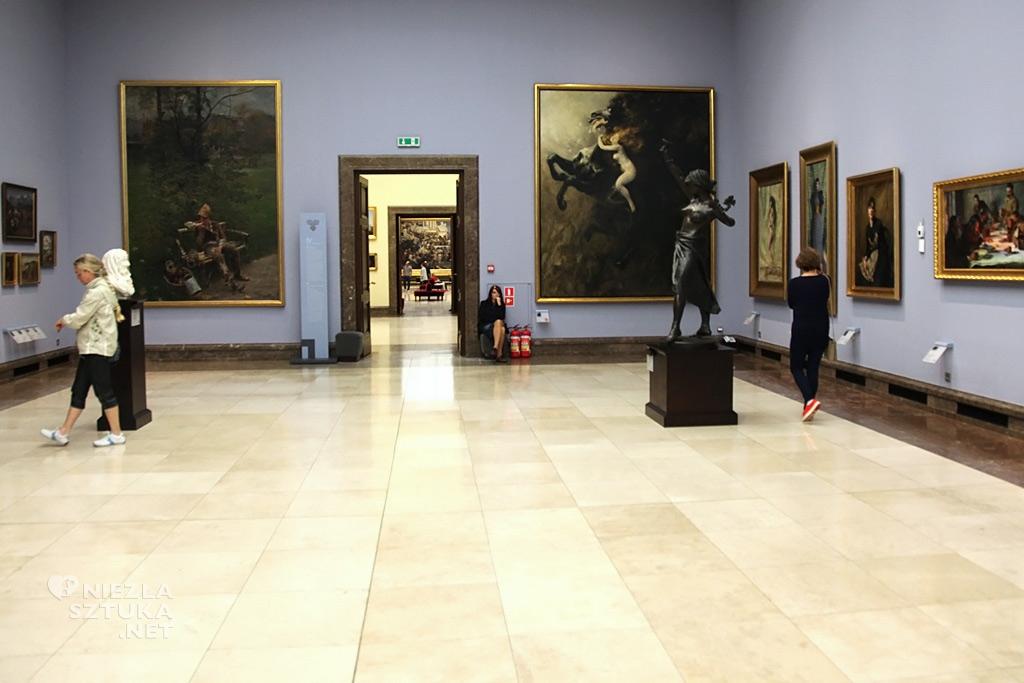 Władysław Podkowiński, Szał uniesień, Galeria Sztuki Polskiej XIX wieku w Sukiennicach, Kraków, sztuka polska, polskie muzeum, Niezła Sztuka