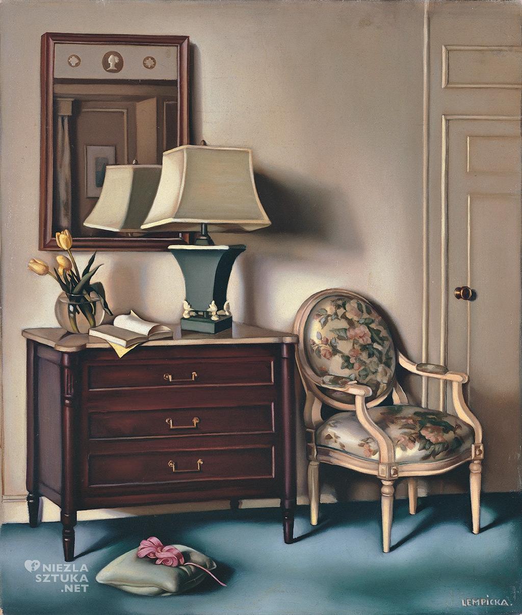 Tamara Łempicka, Chambre d'hotel | 1951 Privet collection © Tamara Art Heritage. Licensed by MMI NYC ADAGP Paris SIAE Roma 2015