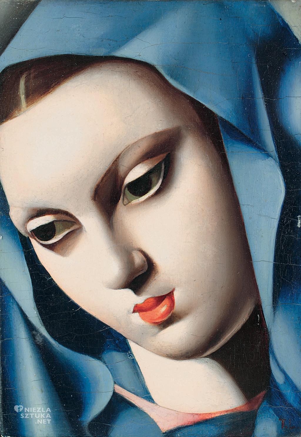 Tamara Łempicka, La Vierge bleue | 1934 Privet collection ©Tamara Art Heritage. Licensed by MMI NYC ADAGP Paris SIAE Roma 2015