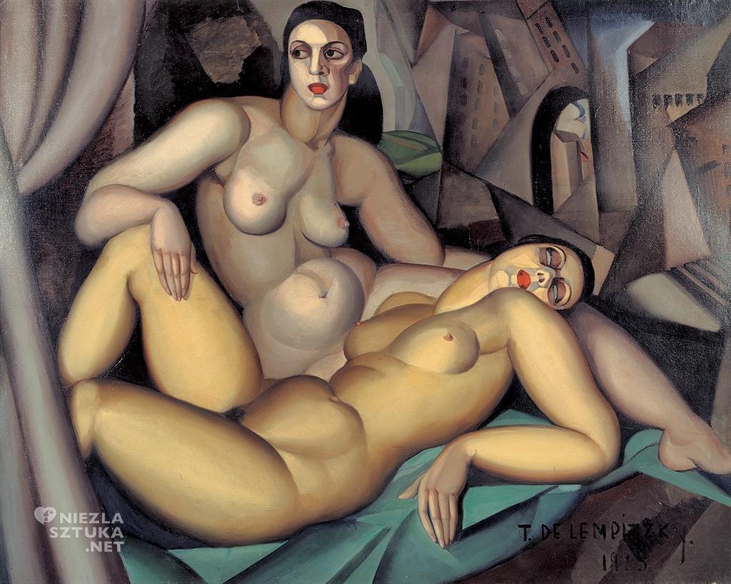 Tamara Łempicka <em>Dwie przyjaciółki</em> | 1923<br />Ginevra, Association des Amis du Petit Palais © Tamara Art Heritage. Licensed by MMI NYC/ ADAGP Paris/ SIAE Roma 2015