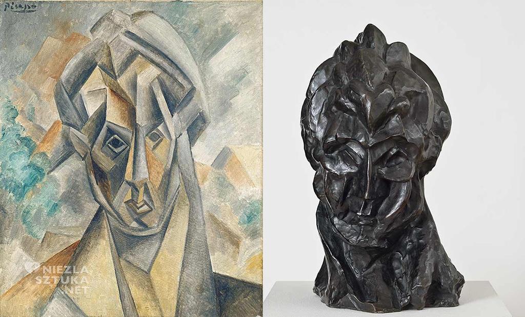 Pablo Picasso, Fernanda Olivier, kobiety Picassa, rzeźby, kubizm, Niezła Sztuka