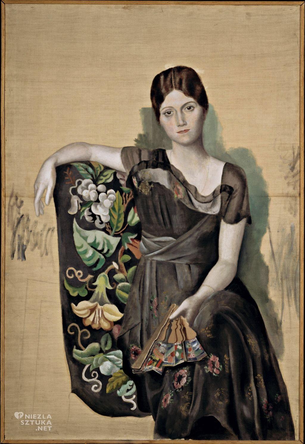 Pablo Picasso, Olga w fotelu, kobiety Picassa, Niezła Sztuka